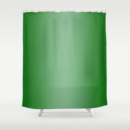 Green to Pastel Green Vertical Bilinear Gradient Shower Curtain