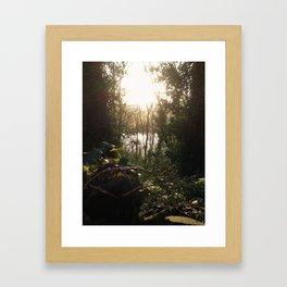 Hidden Keyhole Framed Art Print