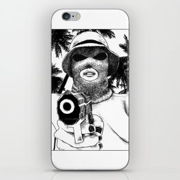 asc 501 - L'implacable (The Destroyer) iPhone Skin