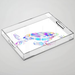 Sea Turtle Acrylic Tray