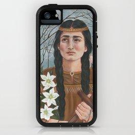 Saint Kateri Tekakwitha iPhone Case