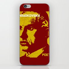 Vladimir Mayakovsky, Soviet Poet iPhone & iPod Skin