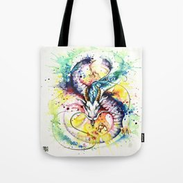 """Into the mirror"" n°5 : The Dragon Tote Bag"