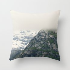 In Glacier Bay Throw Pillow