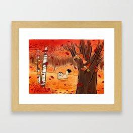 automne Framed Art Print
