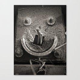 Architectural Smile Canvas Print