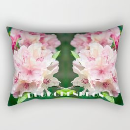 PINK BLOSSOM of RHODODENDRON Rectangular Pillow