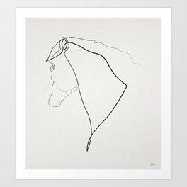 Horse 2512 Art Print