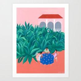 The Succulent Garden Art Print