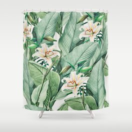 Tropical state Shower Curtain