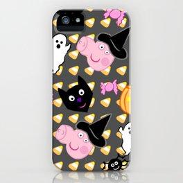 Halloween Peppa iPhone Case