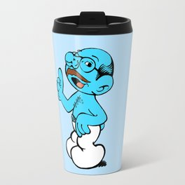 Tobias Smurf Travel Mug