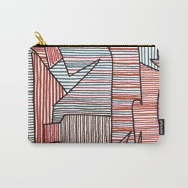 Bridget Riley Carry-All Pouch