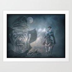 Midnight Cowboy Art Print