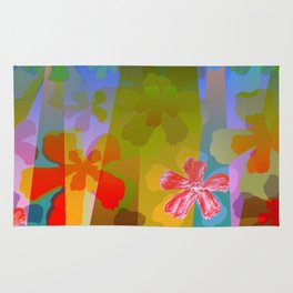 Flowers in the City Rug
