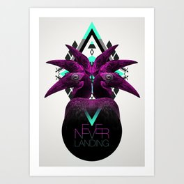 ::Never Landing:: Art Print