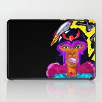 magneto iPad Cases featuring Ms. Magneto by N3RDS+INK