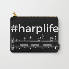 #harplife (dark colors) Carry-All Pouch