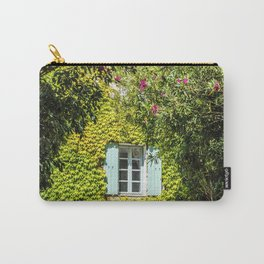 Old typical house in Provence in summer Carry-All Pouch
