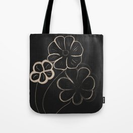 Light Sepia Flowers #1 #drawing #decor #art #society6 Tote Bag