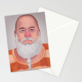 Mugshot Santa Claus Stationery Cards