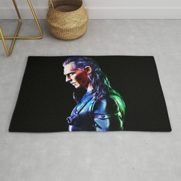 Loki - A Study In Perfection III Version One Rug