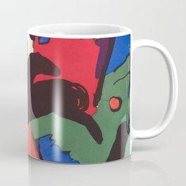 """Franz Marc """"The Blue Rider (Der Blaue Reiter)"""" Coffee Mug"""