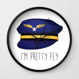 I'm Pretty Fly Wall Clock