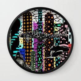 Sharknado 2 Wall Clock