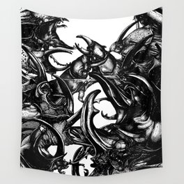 The Riot : Bugs Wall Tapestry