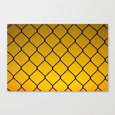 fenced Canvas Print