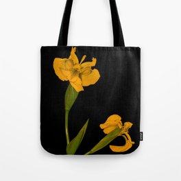 Wild Summer Iris II Tote Bag