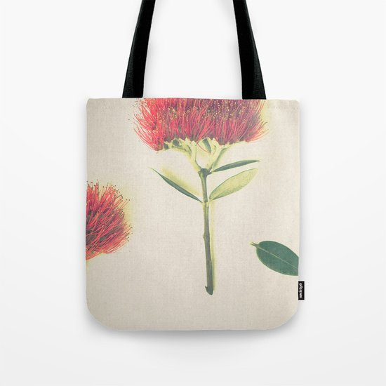 Christmas Wallpaper Tote Bag