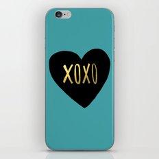 XOXO Heart iPhone & iPod Skin