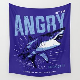 Hey, I'm ANGRY Wall Tapestry