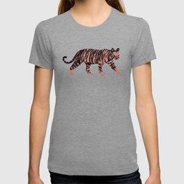 Tiger Circle Art T-shirt