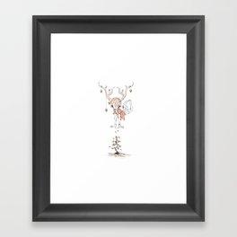 Miss Ponderosa Framed Art Print
