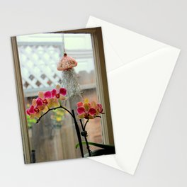 Tickled Pink And Yellow Stationery Cards