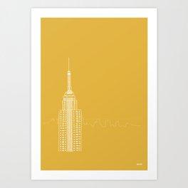 NYC by Friztin Art Print