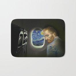 Van Gogh trip Bath Mat