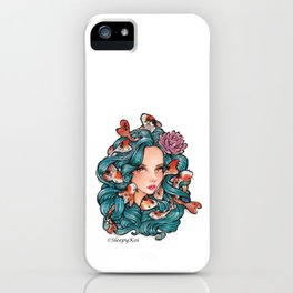 Koi Goddess iPhone Case