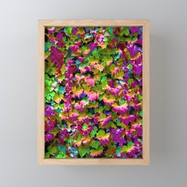 Boston Ivy Abstraction Distraction Framed Mini Art Print