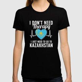 Kazakhstan flag I Kazakh Souvenirs T-shirt