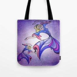 doodle dance -b- Tote Bag