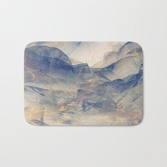 Tulle Mountains Bath Mat