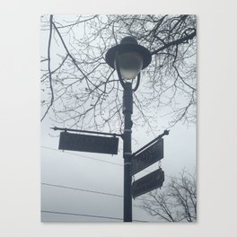 Maplewood - Sign post Canvas Print