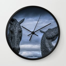 Spirited. Wall Clock