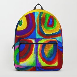 Wassily Kandinsky Color Study Backpack