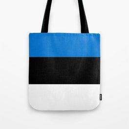 Flag: Estonia Tote Bag