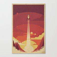 Atomic Sky Canvas Print